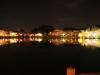 八鶴湖 夜桜ライトアップ3