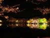 八鶴湖 夜桜ライトアップ5
