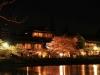 八鶴湖 夜桜ライトアップ8