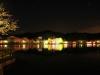 八鶴湖 夜桜ライトアップ9