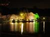 八鶴湖 夜桜ライトアップ13