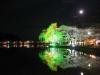 八鶴湖 夜桜ライトアップ20
