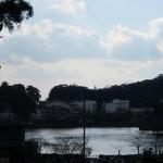 最福寺からの八鶴湖